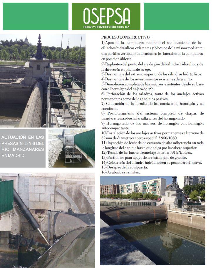 124-Adecuación presas nº5 y 6 rio Manzanares